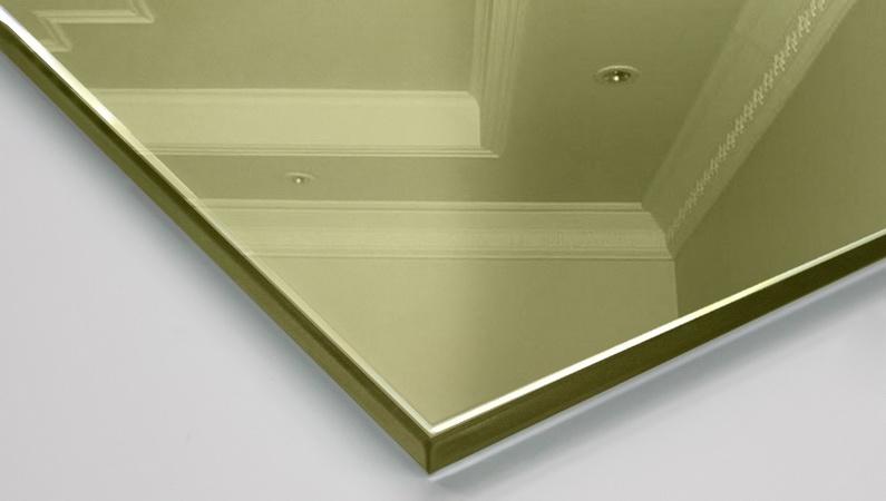 Зеркало декоративное Pink Silver (золото)
